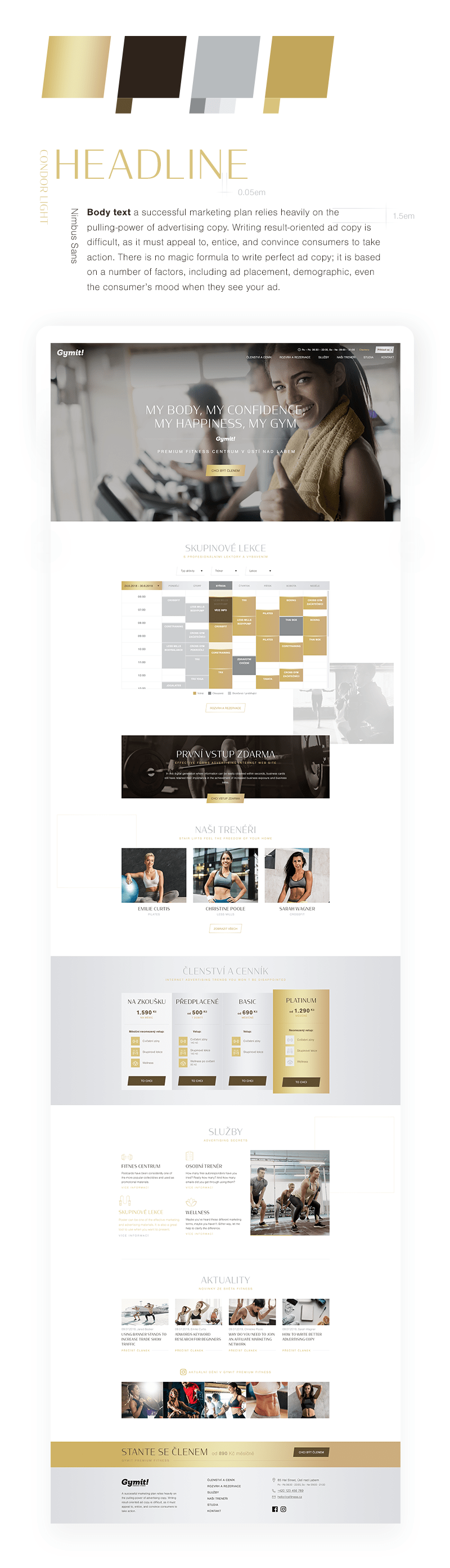 Gymit Homepage